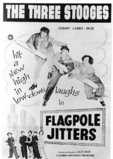 <i>Flagpole Jitters</i> 1956 film by Jules White