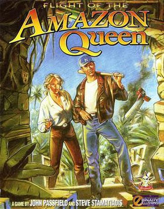 Flight of the Amazon Queen - Flight of the Amazon Queen cover art