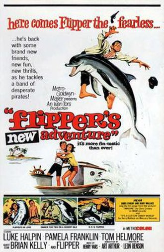 Flipper's New Adventure - 1964 movie poster