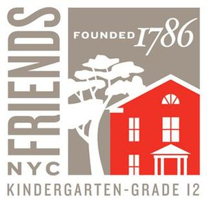 Friends Seminary - Image: Friends Seminary 225Logo