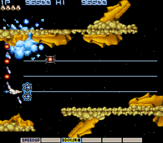 Shooter game - Gradius, a pioneering shoot 'em up
