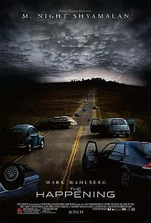 <i>The Happening</i> (2008 film) 2008 psychological thriller film