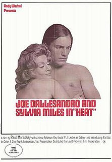 <i>Heat</i> (1972 film) 1972 film by Paul Morrissey