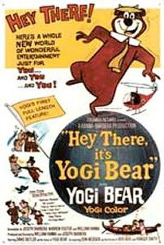 Hey There, It's Yogi Bear! - Theatrical release poster