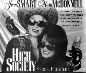 High Society (1995 TV series) - Image: High Society (TV series) ad