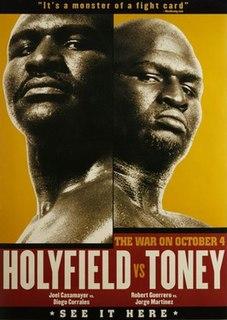 Evander Holyfield vs. James Toney