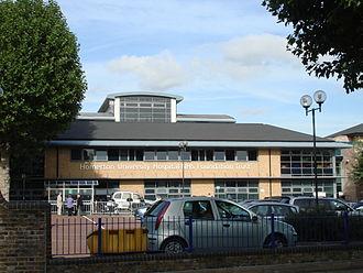 Homerton University Hospital - Image: Homerton Hospital 1