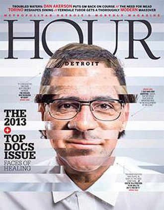 Hour Detroit - Hour Detroit cover - October 2013