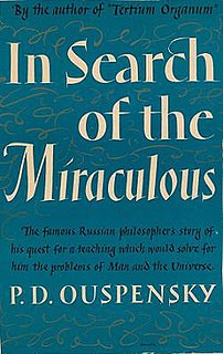 <i>In Search of the Miraculous</i>