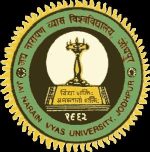 Jai Narain Vyas University - JNVU Logo