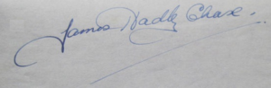 James Hadley Chase - Image: James Hadley Chase signature resized