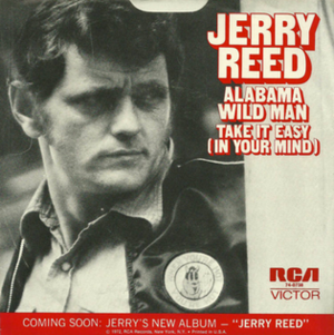 Alabama Wild Man - Image: Jerry Reed Alabama single