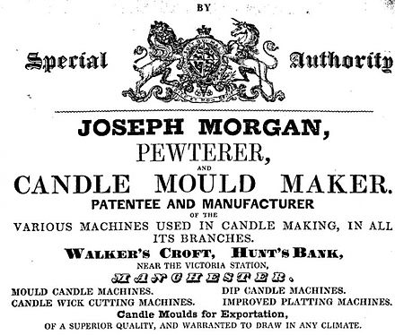 History Of Candle Making Wikiwand