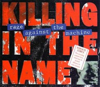 Killing in the Name - Image: Killing AUST