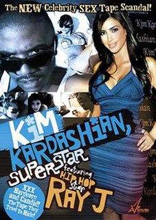 <i>Kim Kardashian, Superstar</i> 2007 pornographic film featuring Kim Kardashian and Ray J
