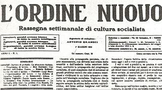 <i>LOrdine Nuovo</i>