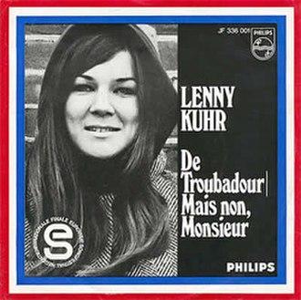 De troubadour - Image: Lenny Kuhr De troubadour