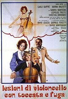 <i>Lezioni di violoncello con toccata e fuga</i> 1976 film by Davide Montemurri