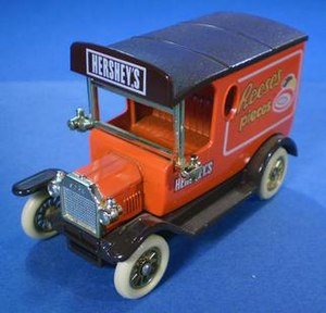Lledo - Ford Model T delivery van. This model was used for more than 170 different liveries.