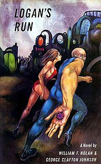 <i>Logans Run</i> novel by William F. Nolan