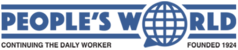 Logo of The People's World newspaper.png