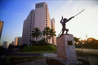 Mandarin Oriental Manila Former hotel in Makati, Philippines