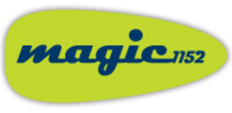 Metro 2 Radio - Magic 1152 logo used from 1998 to 2015.