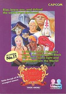 <i>Magic Sword</i> (video game) 1990 video game