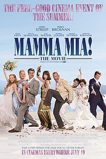 2008 American romantic comedy musical movie directed by Phyllida Lloyd