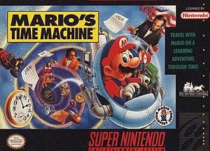 Mario's Time Machine - Image: Mario's Time Machine SNES