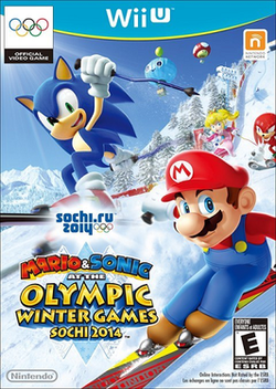 Mario  Sonic at the Sochi 2014 Olympic Winter Games
