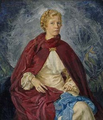 Mary Edwell-Burke - Self-portrait, 1936