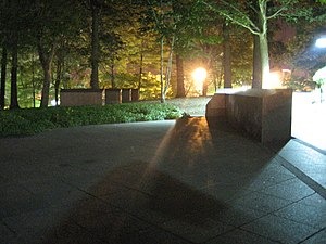Kent State University - May 4 Memorial at night