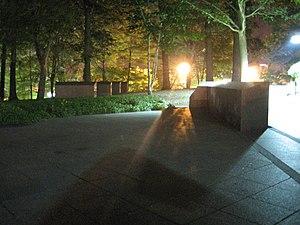 Kent State University - May 4 Memorial at night