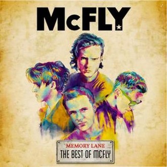 Memory Lane: The Best of McFly - Image: Memory Lane the best of Mcfly
