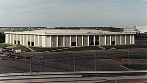 Minnesota North Stars - Met Center, home ice of the Minnesota North Stars.