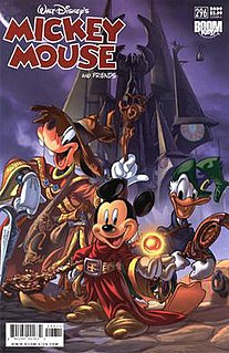 <i>Mickey Mouse</i> (comic book) American Disney comic book launched in 1941