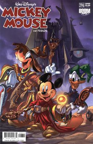 Mickey Mouse (comic book) - Image: Mickey Mouse And Friends No 296
