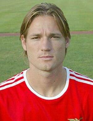 Miklós Fehér - Fehér with Benfica in 2003