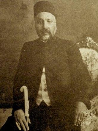 Kermanshah Province - Mirza Ahmad Khan Motazed-Dowleh Vaziri