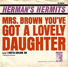 Mrs Brown You've Got a Lovely Daughter cover.jpg