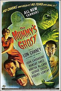 <i>The Mummys Ghost</i> 1944 film by Reginald Le Borg