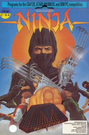 Ninja (1986 video game) - Cover art of Ninja