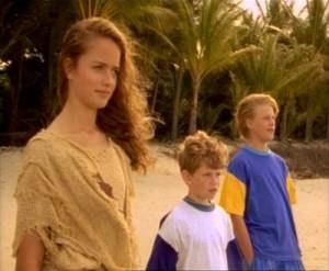 Ocean Girl - Series' main characters left to right: Neri, Brett, and Jason