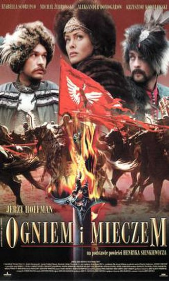 With Fire and Sword (film) - Polish release poster