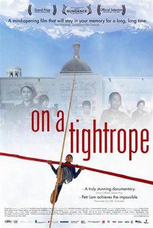 On a Tightrope - Image: On a tightrope International poster