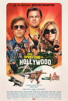 Resultado de imagen para once upon a time in hollywood poster