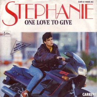 Flash (Stéphanie song) - Image: One love to give