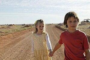 Opal Dream - Kellyanne (Sapphire Boyce) is led by her brother Ashmol (Christian Byers).