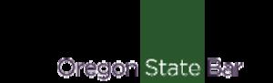 Oregon State Bar - Image: Oregon State Bar logo